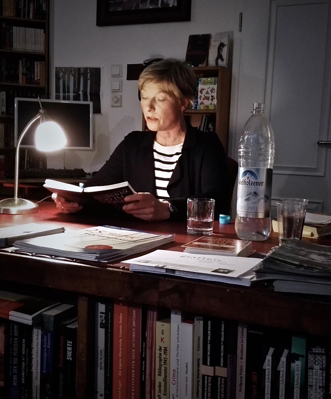 Lesung in der Münchner Buchhandlung Glatteis, © Annegret Scholz
