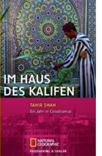 Cover Tahir Shah, Im Haus des Kalifen, übersetzt von Andrea O'Brien