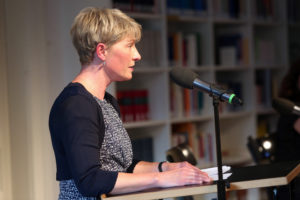 Werkstattgespräch mit Übersetzerin, Lektorat und Übersetzerforum, Andrea O'Brien
