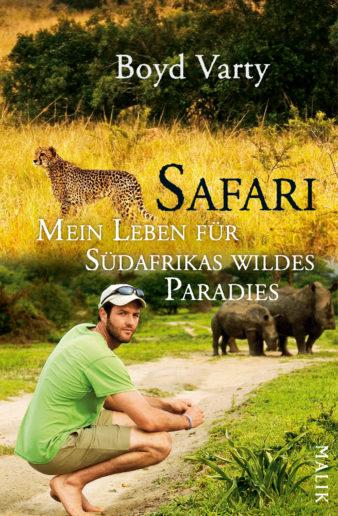 Coverfoto Boyd Varty, Afrika, übersetzt von Andrea O'Brien und Ursula Wulfekamp
